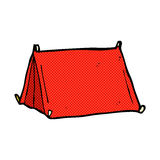 comic cartoon traditional tent Stock Photography