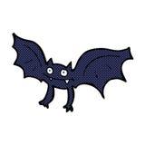 Comic cartoon vampire bat Royalty Free Stock Photos
