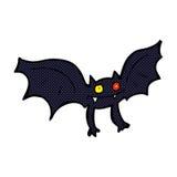 Comic cartoon vampire bat Royalty Free Stock Images