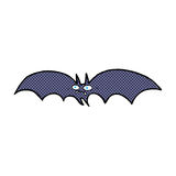Comic cartoon vampire bat Stock Images