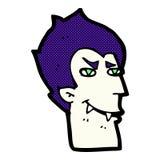Comic cartoon vampire face Royalty Free Stock Photos