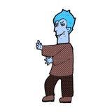 Comic cartoon vampire Stock Image