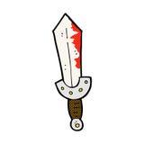 comic cartoon viking sword Stock Photography