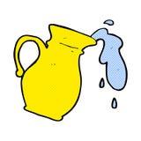 Comic cartoon water jug Stock Photo