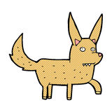 Comic cartoon wild dog Royalty Free Stock Photos