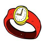comic cartoon wrist watch Stock Photo