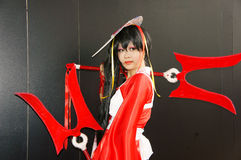 Comic character, Asian cosplayer Stock Photography