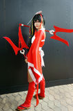 Comic character, Asian cosplayer Royalty Free Stock Images