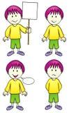 Comic character - boy (Vector) Royalty Free Stock Photos
