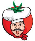 Comic Chef Stock Images