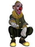 Comic Clown. 3d render of a comic clown Stock Photos