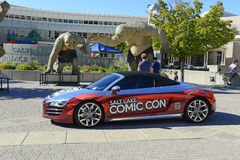 The Comic Con convention in Utah illustrates the continuing popularity of these conventions. SALT LAKE CITY – SEPTEMBER 25, 2015. The Comic Con convention in Royalty Free Stock Photography