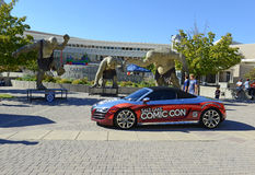 The Comic Con convention in Utah illustrates the continuing popularity of these conventions Stock Images
