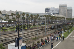 Comic-Con San Diego 2013 Stock Photo