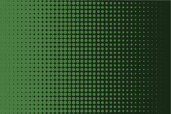 Comic dotted pattern. Green color. Halftone background Vector illustration Royalty Free Stock Images