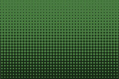 Comic dotted pattern. Green color. Halftone background Vector illustration Stock Photos