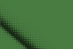 Comic dotted pattern. Green color. Halftone background Vector illustration Royalty Free Stock Photos