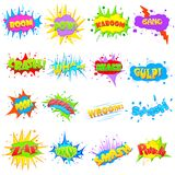 Comic Expression Royalty Free Stock Photos