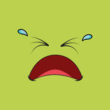Comic faces Royalty Free Stock Images