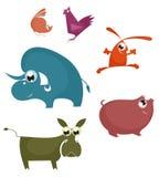 Comic farm animal Stock Photos