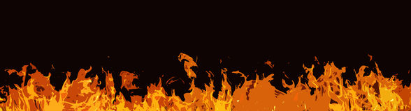 Comic fire background Stock Photos