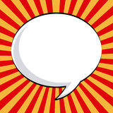 Comic icon Royalty Free Stock Photo