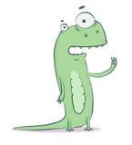 Comic lizard Stock Image