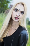 Comic Make Up Royalty Free Stock Images