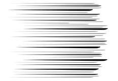 Comic and manga books speed lines background. Superhero action, explosion background. Black and white  illustration Stock Image