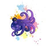 Comic Octopus Stock Photos