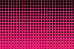 Comic pattern. Halftone background. Pink and black color. Dotted retro backdrop, panels with dots, points, circles, rounds. Stock Photos
