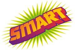 Comic smart Stock Photography
