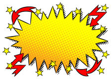 Comic sound effect ouch. Vector illustration of a comic sound effect ouch Royalty Free Stock Images