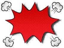 Comic sound effect pow. Vector illustration of a comic sound effect pow Royalty Free Stock Photo
