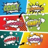 Comic sound effect speech bubble pop art. vector illustration