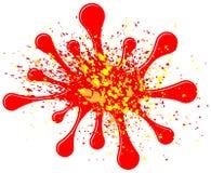 Comic sound effect splash Royalty Free Stock Photo