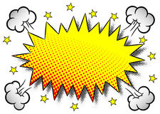 Comic sound effect wham Royalty Free Stock Photography