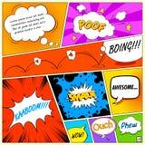 Comic Speech Bubble Stock Photo