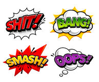 Comic Speech Bubbles Royalty Free Stock Photos
