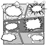 Comic speech bubbles,Vector Illustration Stock Photos