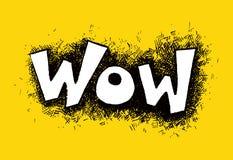 Comic speech humor funny cartoon bubble sketch Royalty Free Stock Image