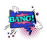 Comic Stciker Chat Bubble Icon Pop Art Style Social Media Communication Royalty Free Stock Photo