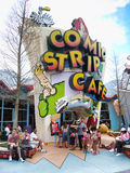 Comic Strip Cafe, Islands of Adventure Royalty Free Stock Photos