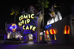 Comic Strip Cafe in Universal Studios in Orlando, FL Royalty Free Stock Photography