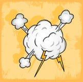 Comic style cartoon illustration , vector icon. Stock Photos