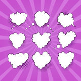 Comic Valentine Heart Royalty Free Stock Image