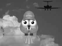 Comical Airman Royalty Free Stock Image