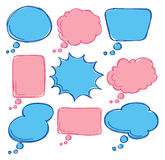 Bubble speech Royalty Free Stock Images