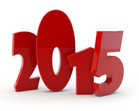 Comical figures 2015. Comical figures of new year 2015 vector illustration