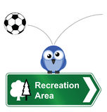 Recreational area Royalty Free Stock Photo